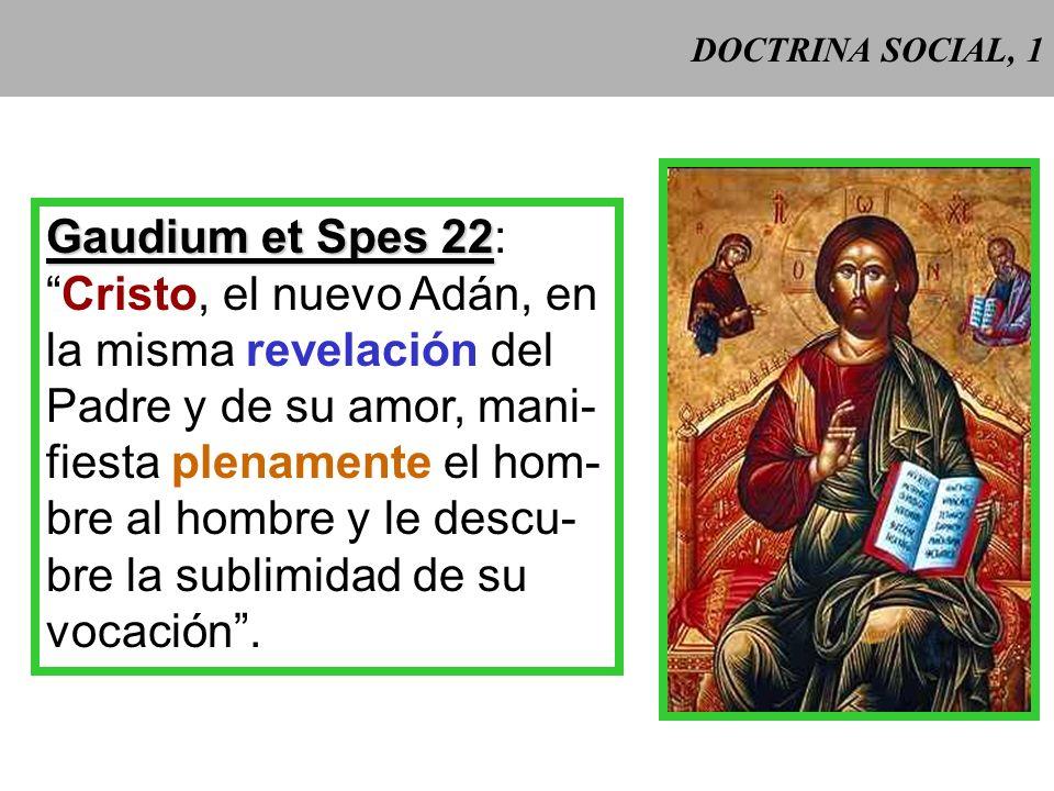 Cristo, el nuevo Adán, en la misma revelación del