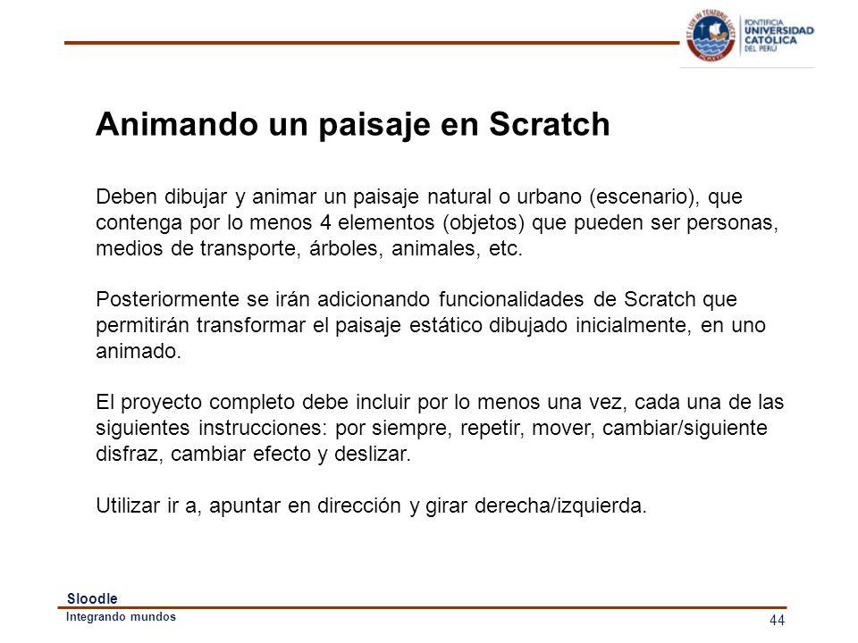 Animando un paisaje en Scratch