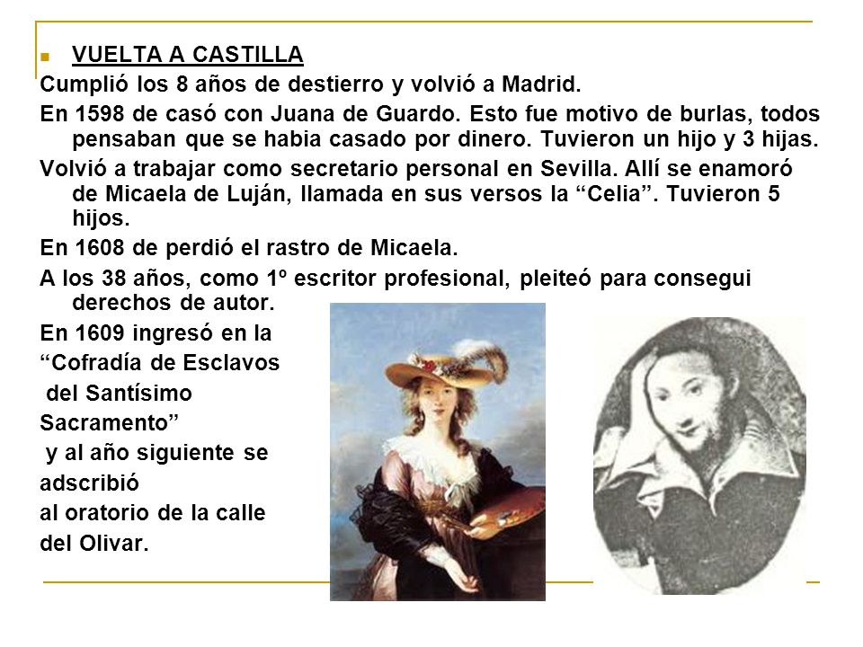VUELTA A CASTILLA Cumplió los 8 años de destierro y volvió a Madrid.