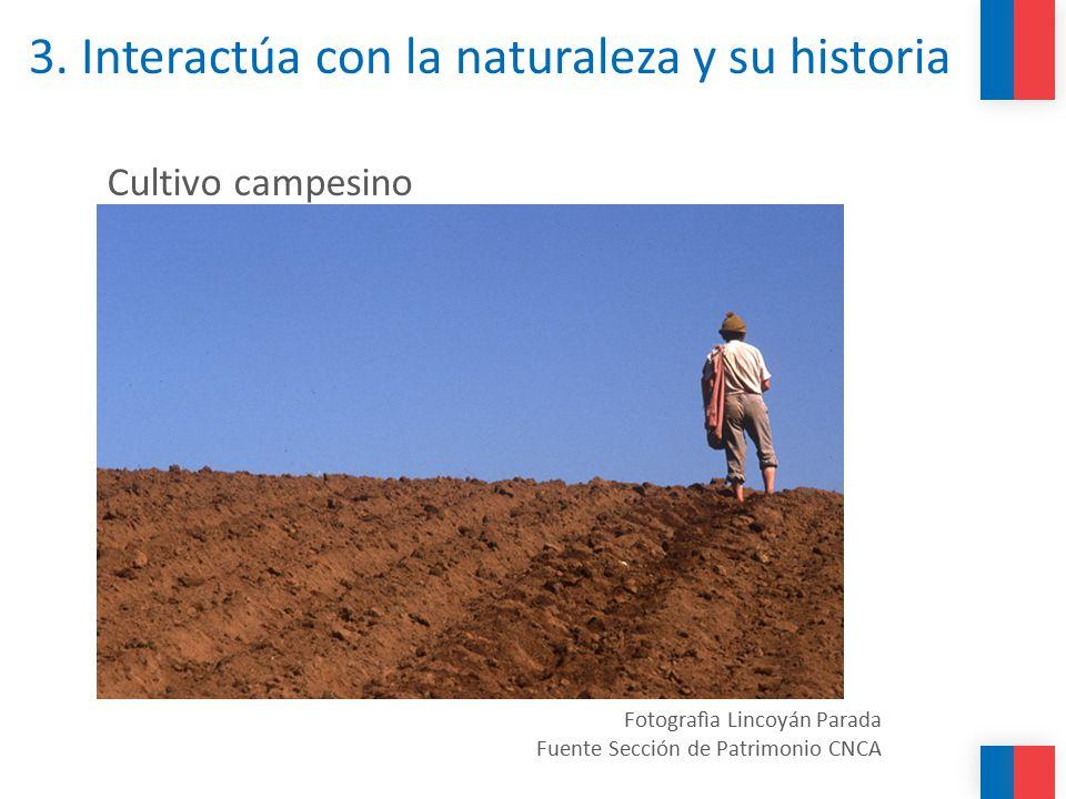 3. Interactúa con la naturaleza y su historia