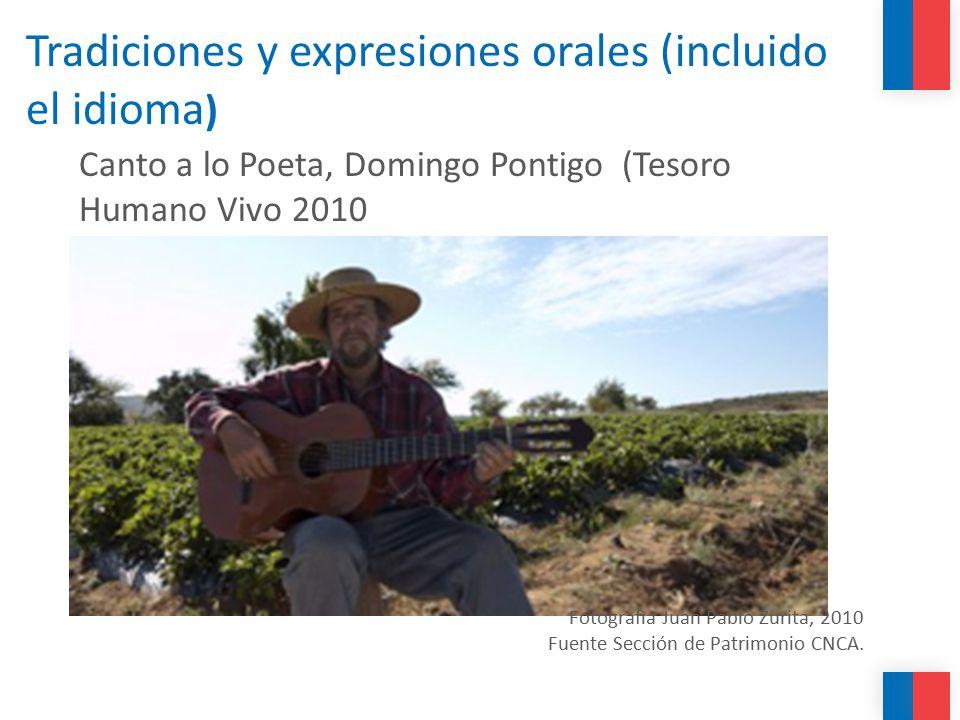 Tradiciones y expresiones orales (incluido el idioma)