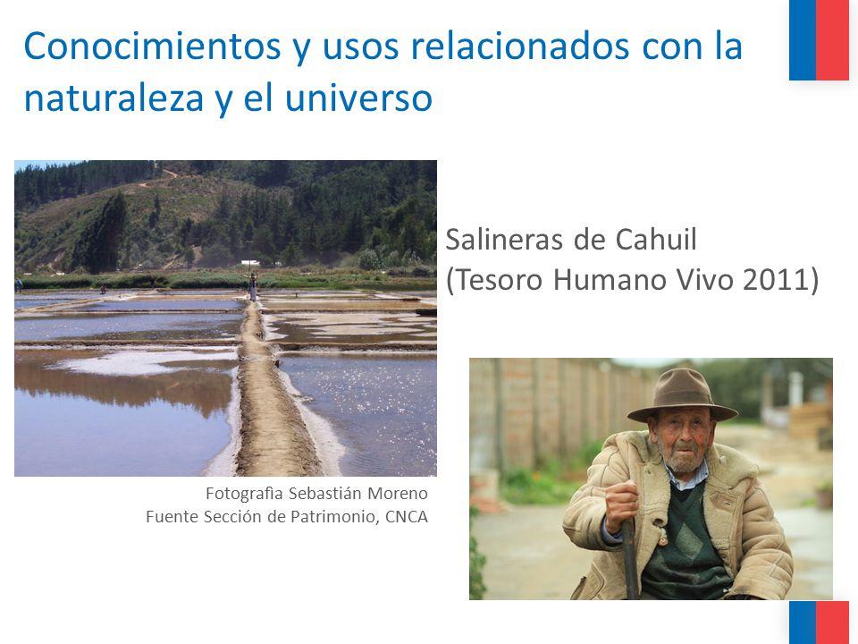 Conocimientos y usos relacionados con la naturaleza y el universo