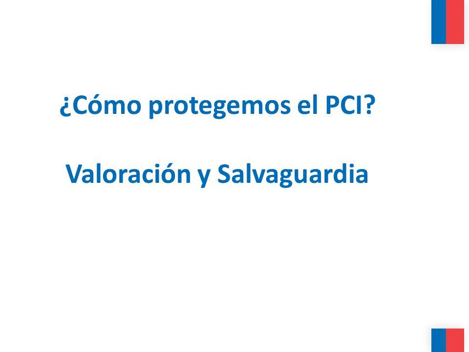 ¿Cómo protegemos el PCI Valoración y Salvaguardia