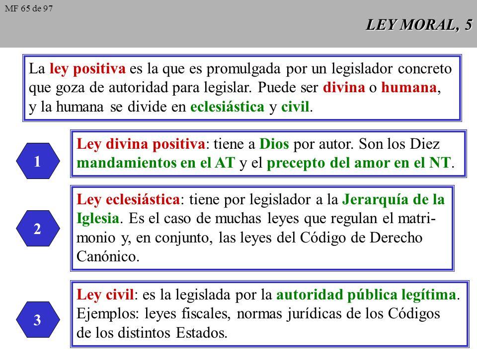 La ley positiva es la que es promulgada por un legislador concreto