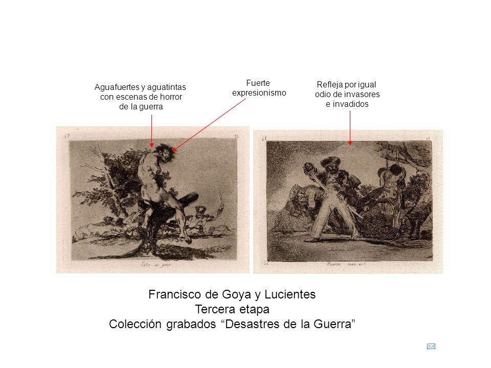 Francisco de Goya y Lucientes Tercera etapa