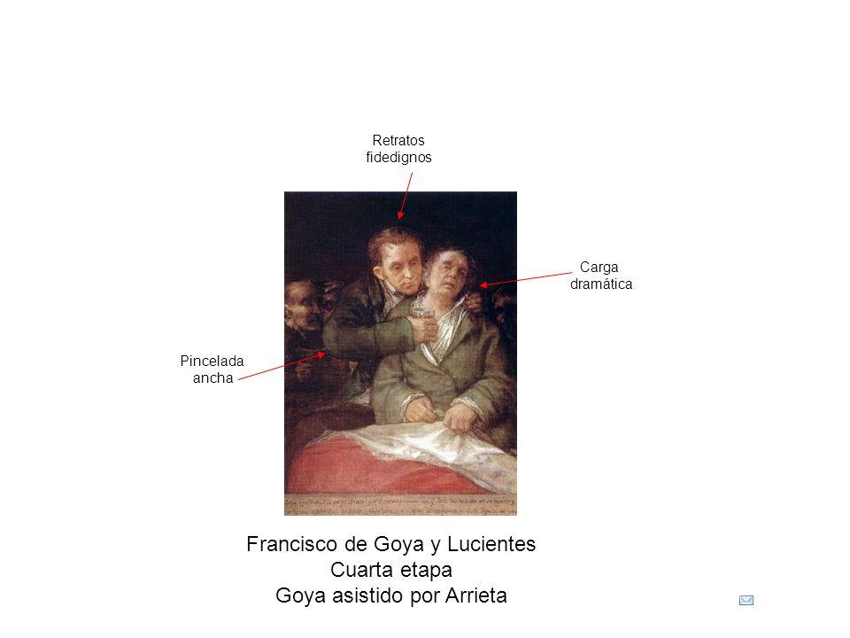 Francisco de Goya y Lucientes Cuarta etapa Goya asistido por Arrieta