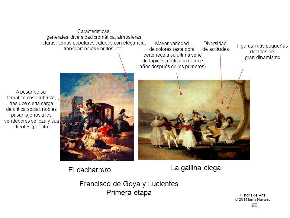 Francisco de Goya y Lucientes Primera etapa
