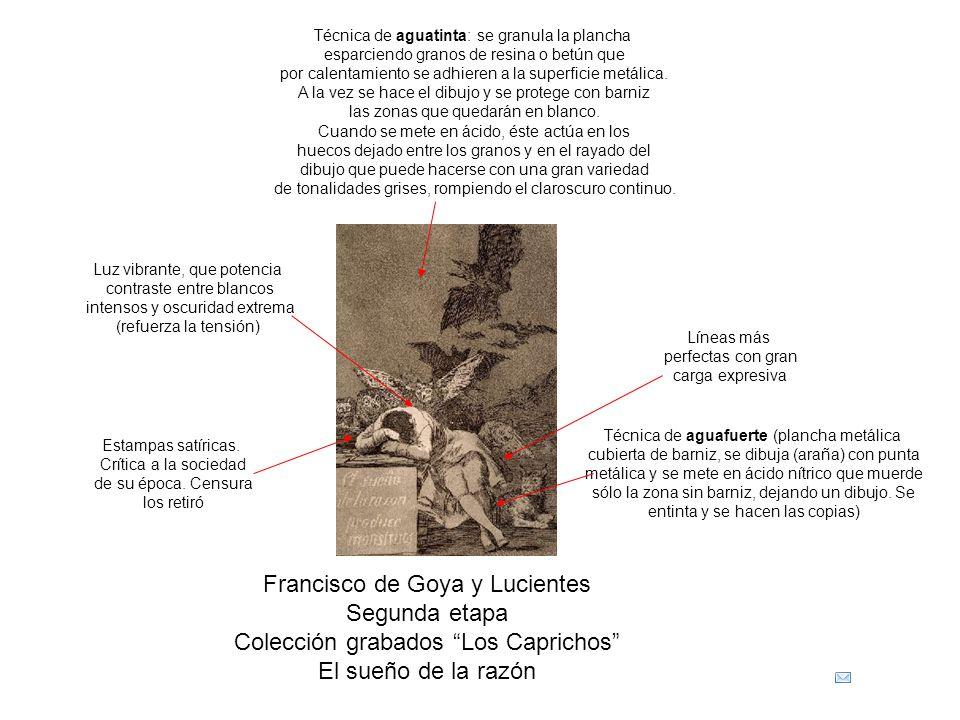 Francisco de Goya y Lucientes Segunda etapa