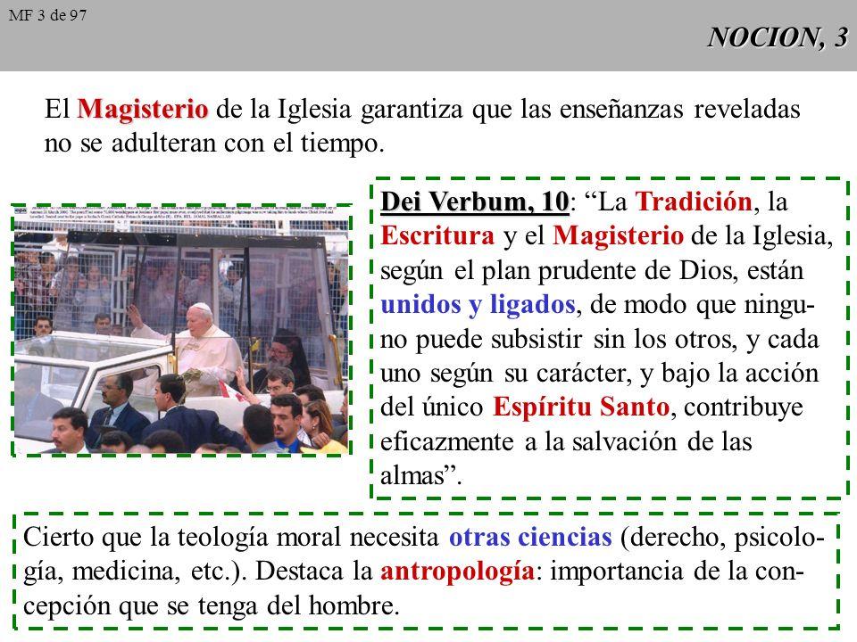 El Magisterio de la Iglesia garantiza que las enseñanzas reveladas