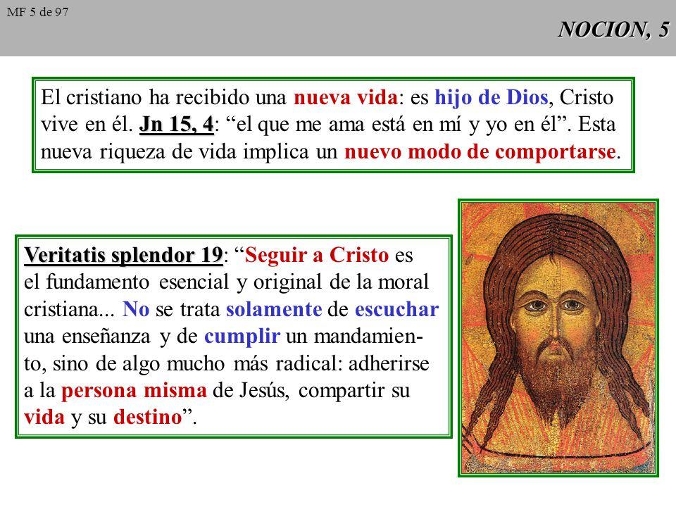 El cristiano ha recibido una nueva vida: es hijo de Dios, Cristo
