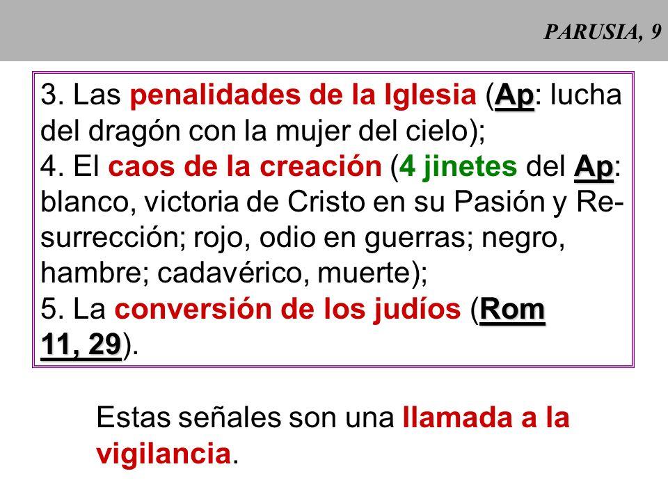 3. Las penalidades de la Iglesia (Ap: lucha