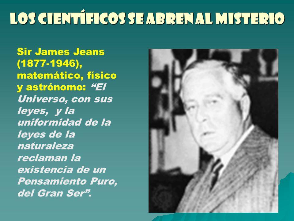 Los científicos se abren al misterio