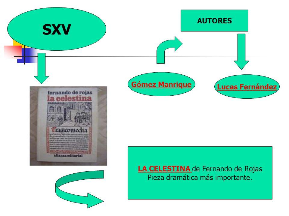 SXV AUTORES Gómez Manrique Lucas Fernández