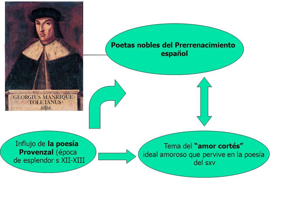 Poetas nobles del Prerrenacimiento español