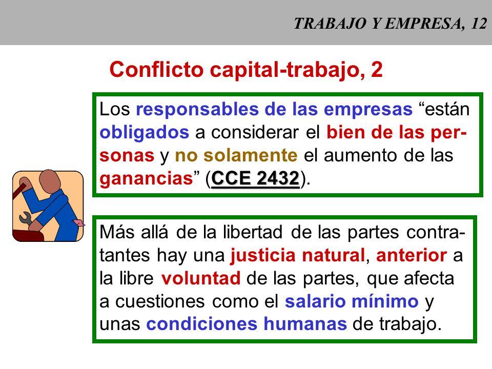 Conflicto capital-trabajo, 2
