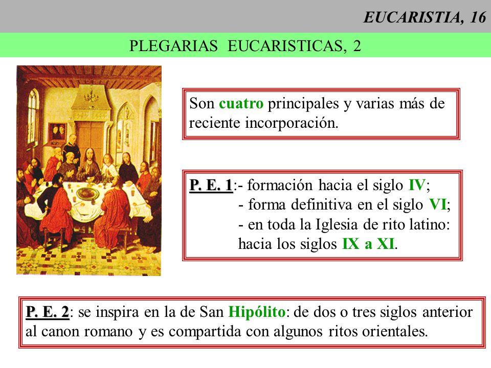 PLEGARIAS EUCARISTICAS, 2