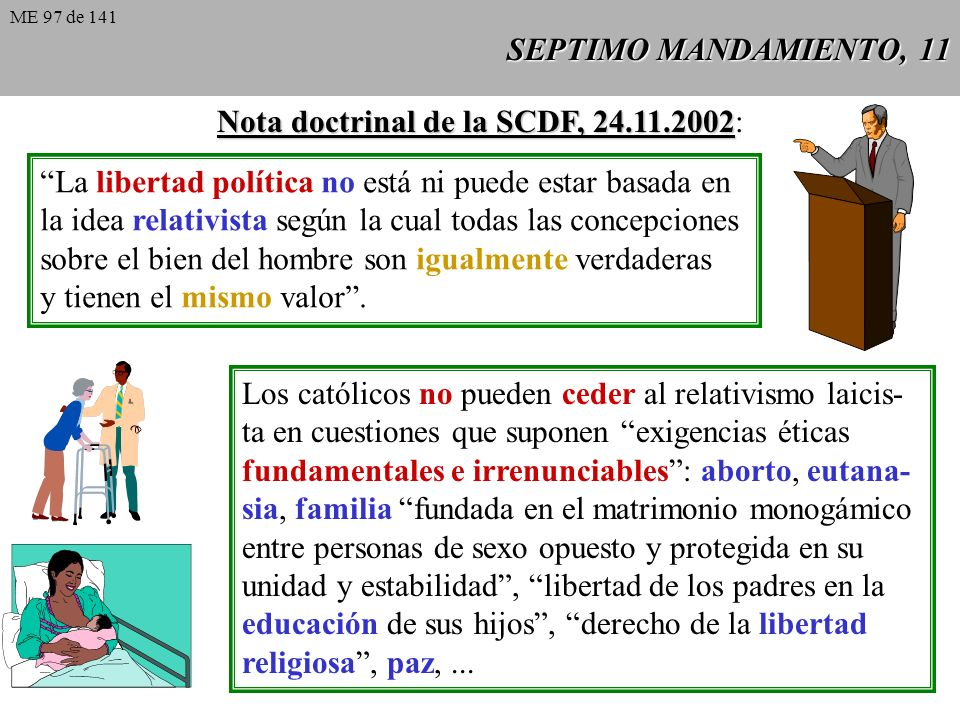 Nota doctrinal de la SCDF, 24.11.2002: