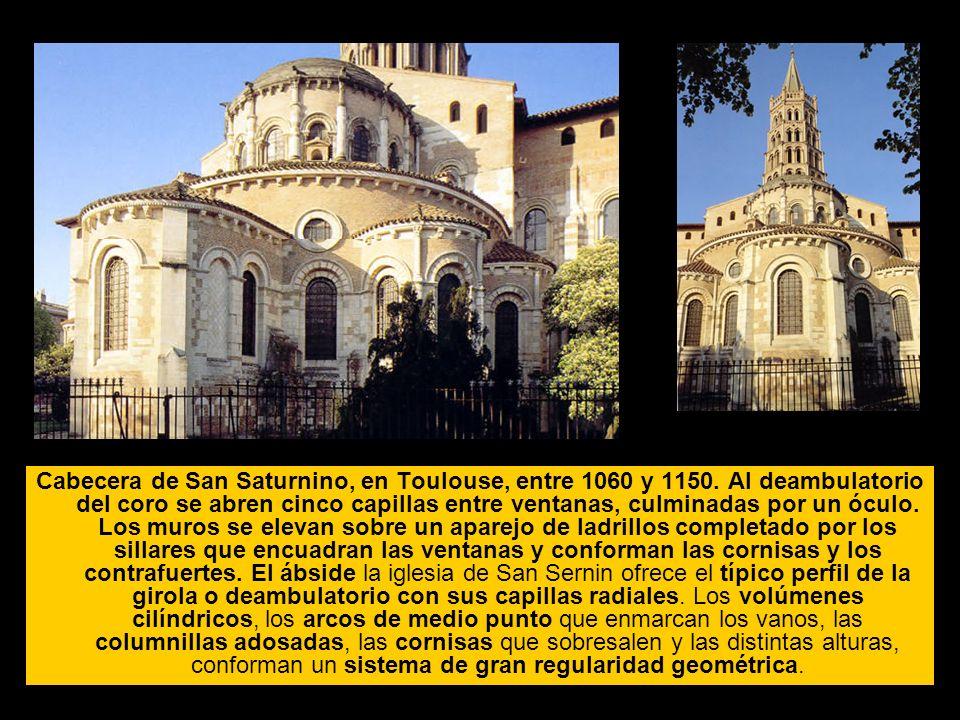 Cabecera de San Saturnino, en Toulouse, entre 1060 y 1150
