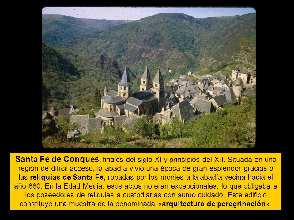 Santa Fe de Conques, finales del siglo XI y principios del XII