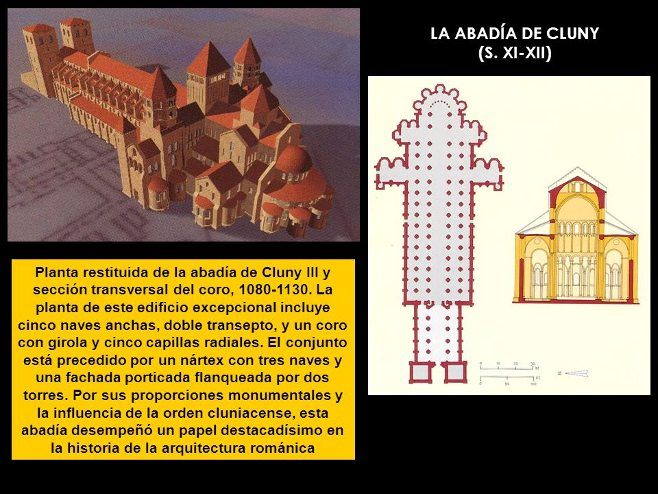 LA ABADÍA DE CLUNY (S. XI-XII)