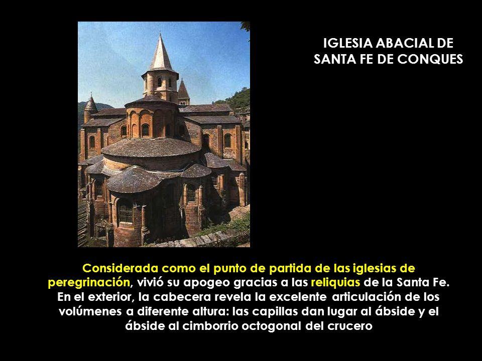 IGLESIA ABACIAL DE SANTA FE DE CONQUES