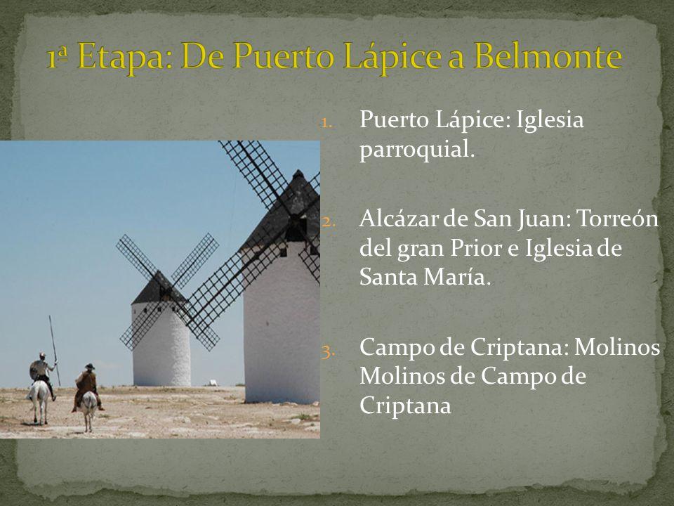 1ª Etapa: De Puerto Lápice a Belmonte