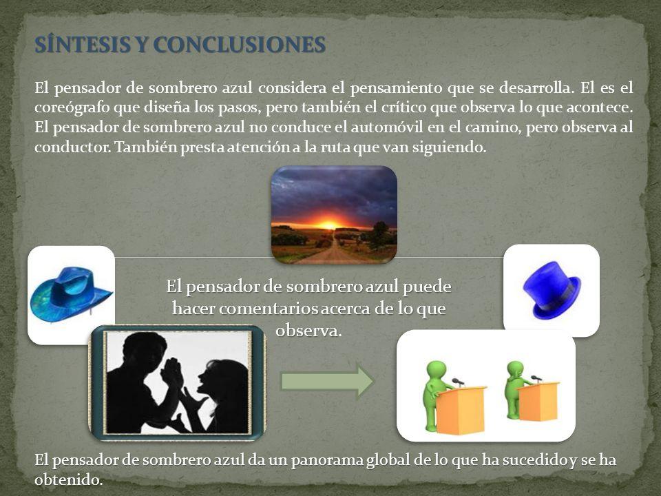 SÍNTESIS Y CONCLUSIONES