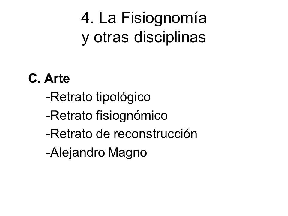 4. La Fisiognomía y otras disciplinas