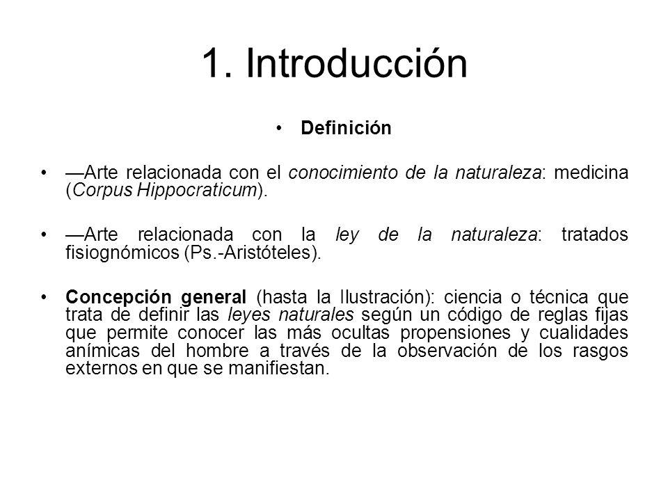 1. Introducción Definición