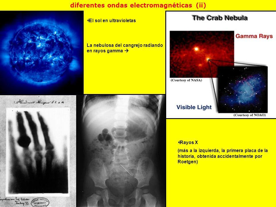diferentes ondas electromagnéticas (ii)
