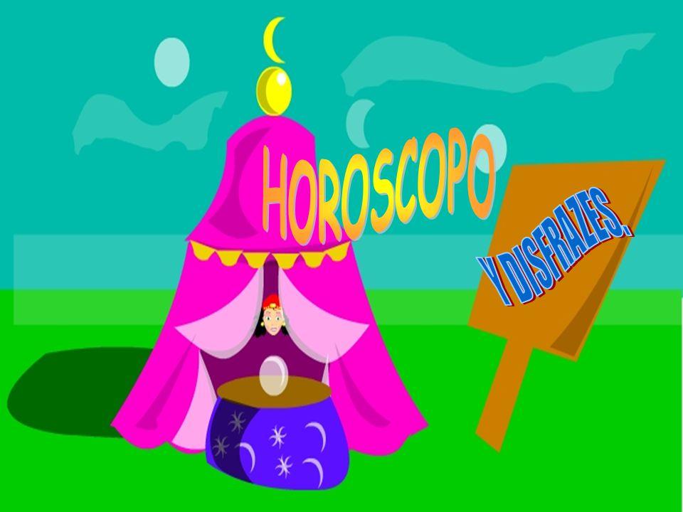 HOROSCOPO Y DISFRAZES.