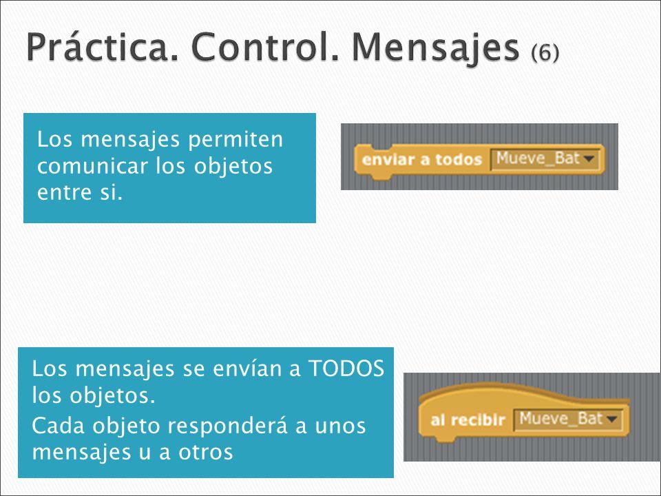 Práctica. Control. Mensajes (6)