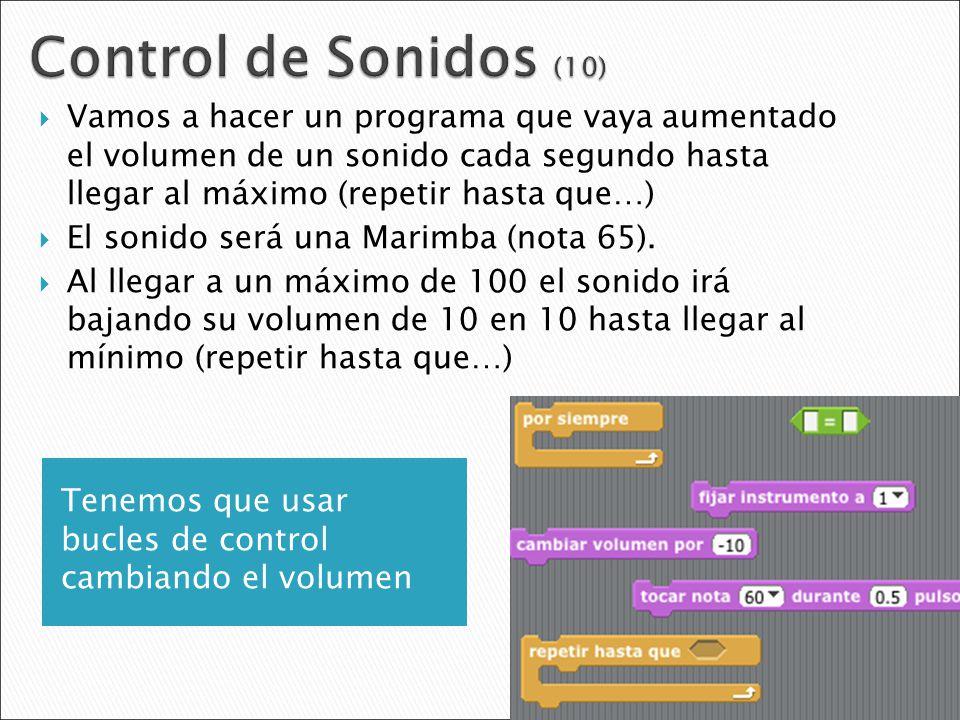 Control de Sonidos (10)