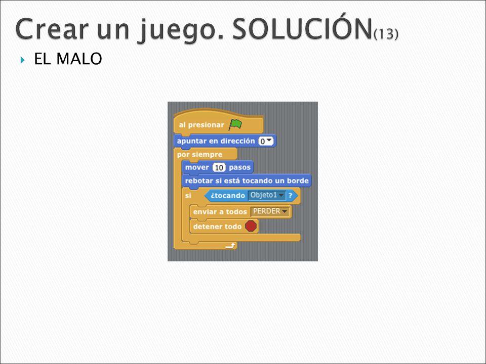 Crear un juego. SOLUCIÓN(13)