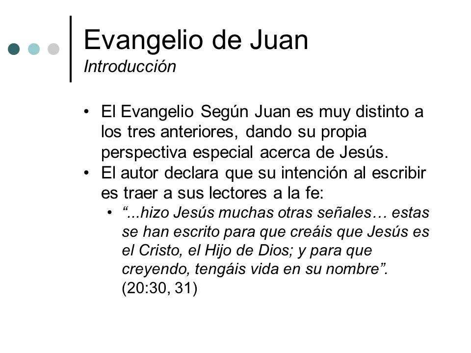 Evangelio de Juan Introducción