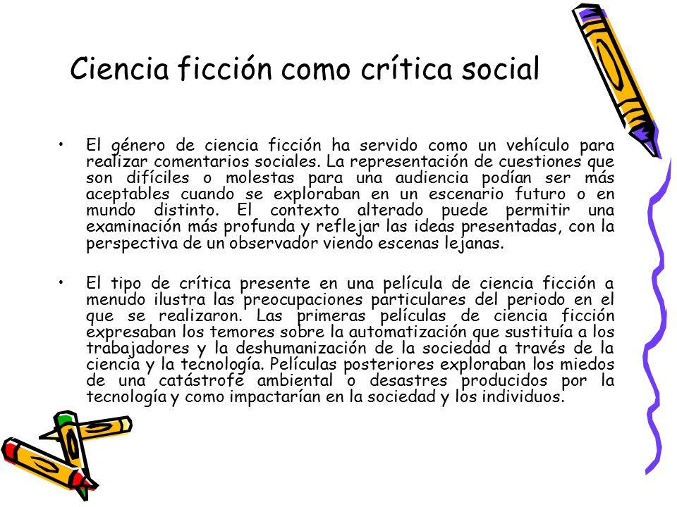 Ciencia ficción como crítica social