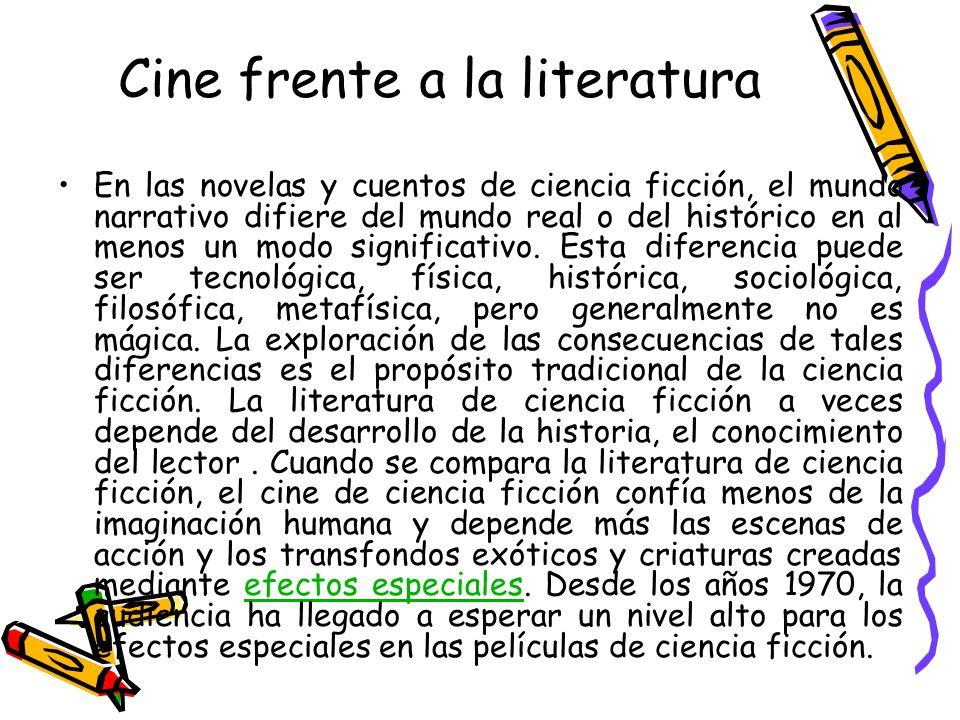 Cine frente a la literatura
