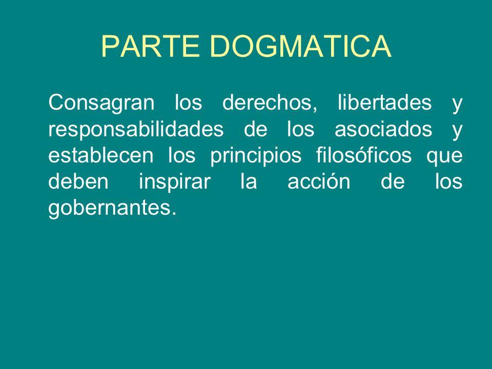 PARTE DOGMATICA