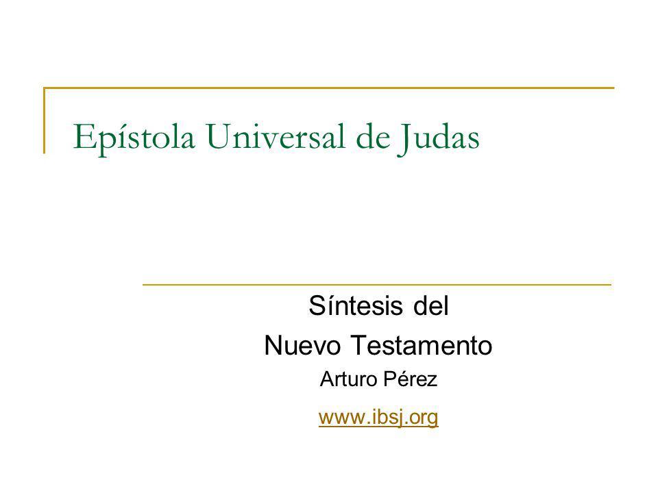 Epístola Universal de Judas