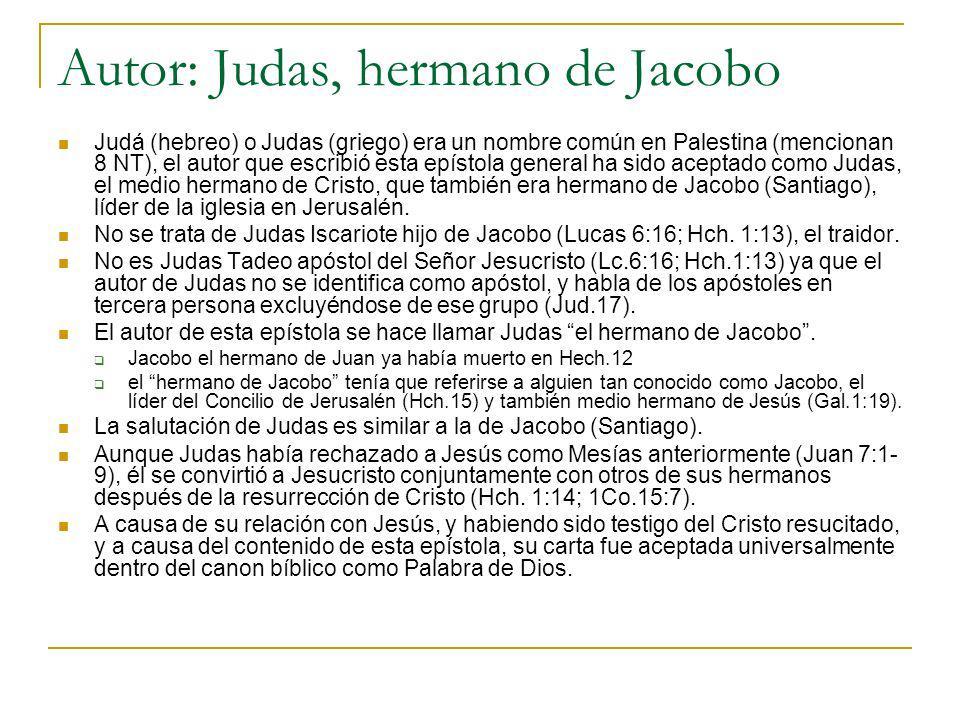 Autor: Judas, hermano de Jacobo