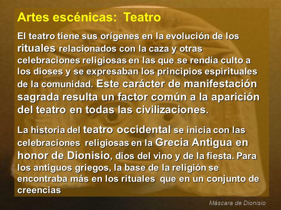 Artes escénicas: Teatro