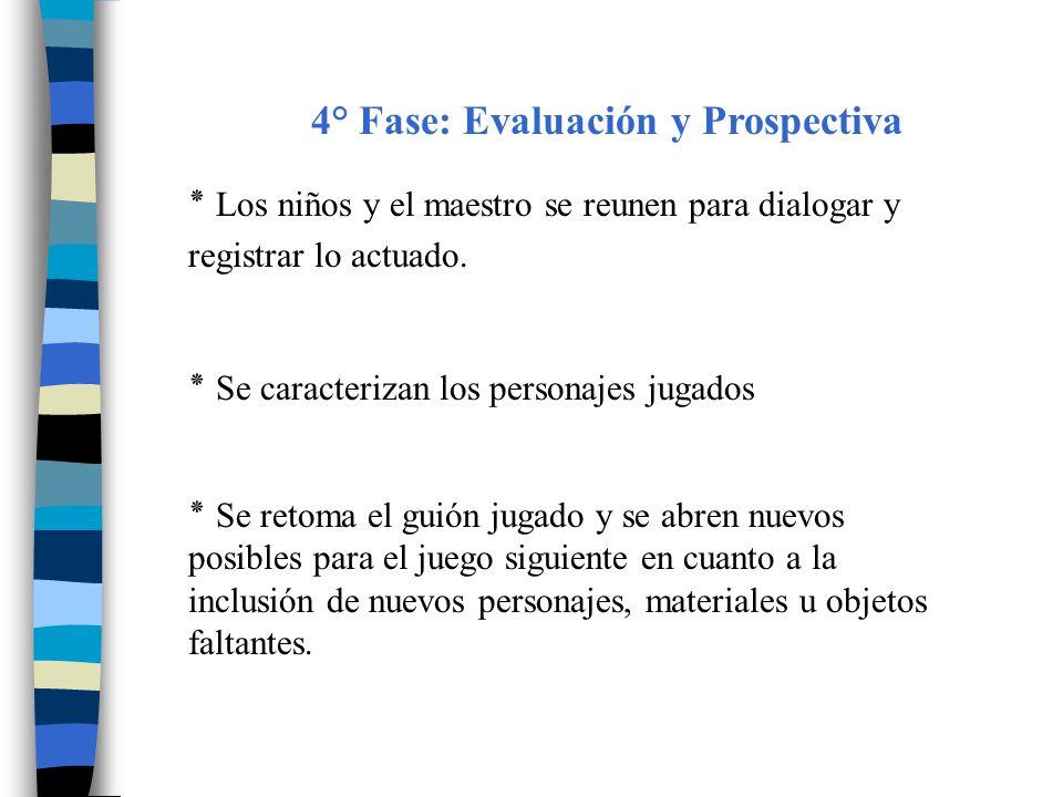 4° Fase: Evaluación y Prospectiva
