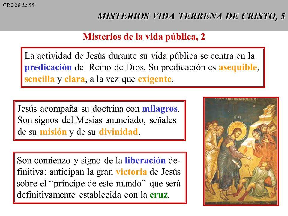 MISTERIOS VIDA TERRENA DE CRISTO, 5
