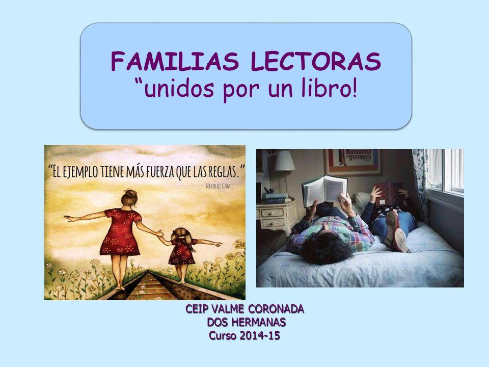 FAMILIAS LECTORAS unidos por un libro!