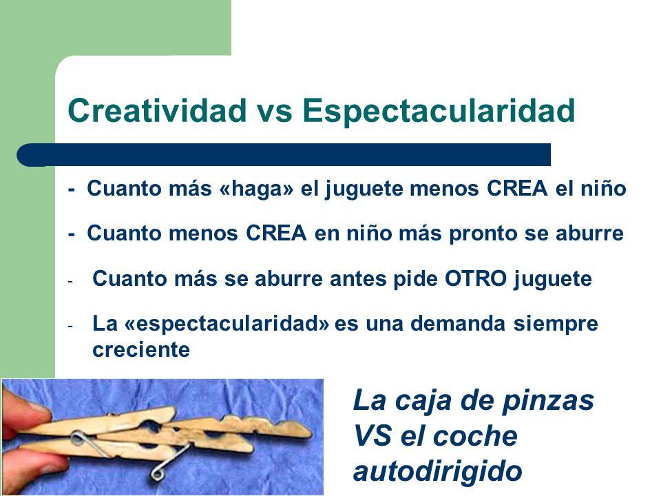 Creatividad vs Espectacularidad