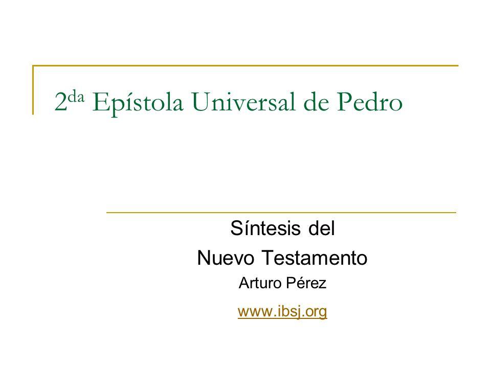 2da Epístola Universal de Pedro