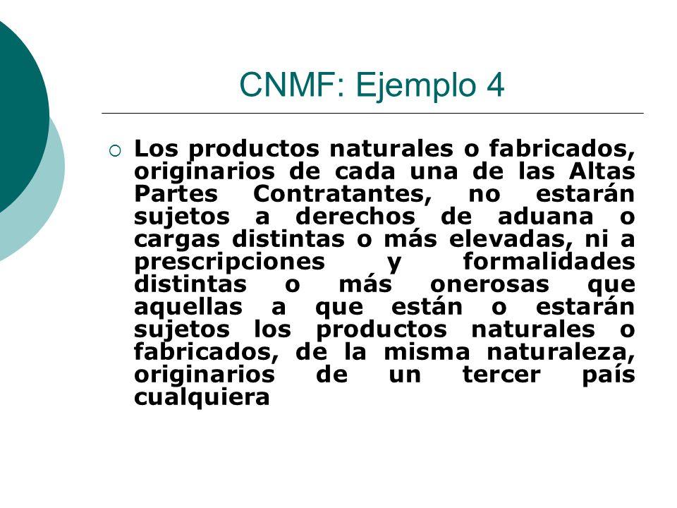 CNMF: Ejemplo 4