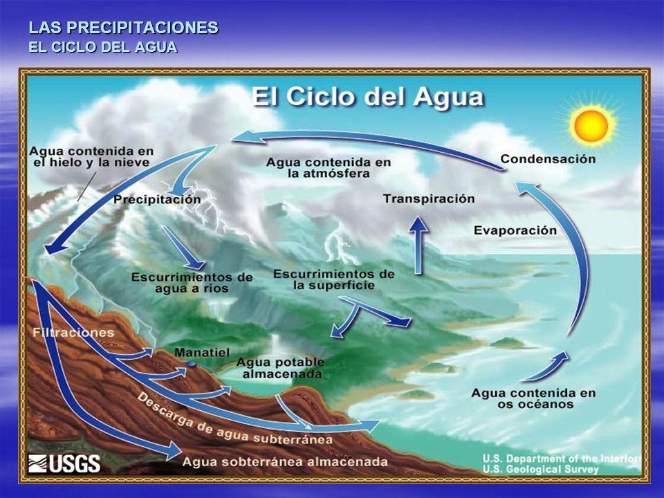 LAS PRECIPITACIONES EL CICLO DEL AGUA