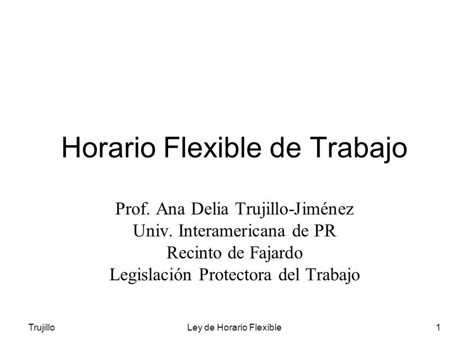 Horario Flexible de Trabajo