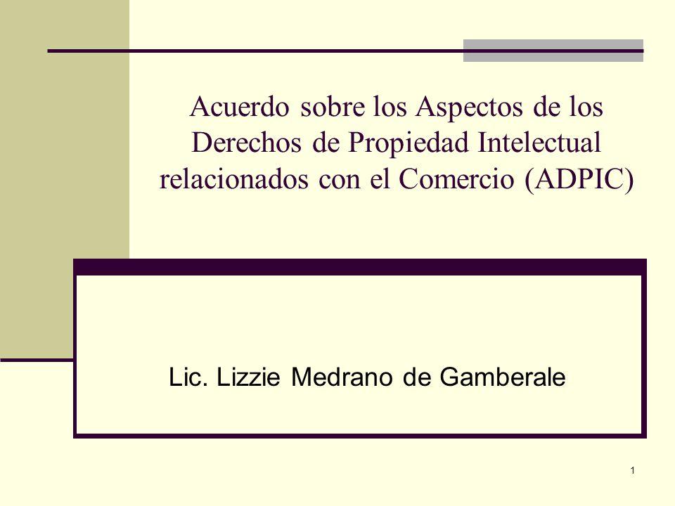 Lic. Lizzie Medrano de Gamberale